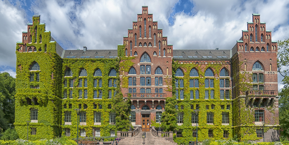 Университетская библиотека в шведском городе Лунд