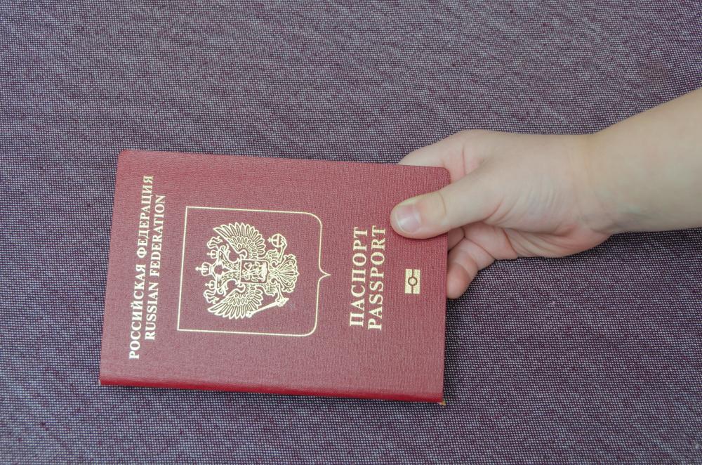 Загранпаспорт для детей до 2 лет