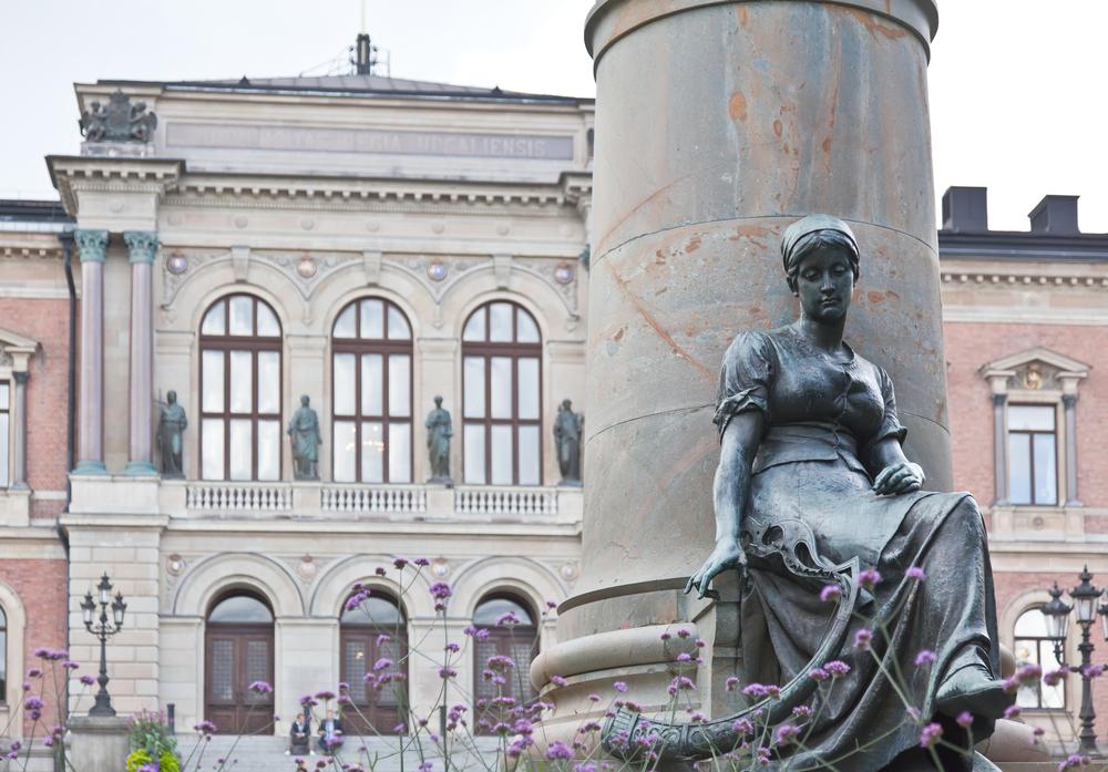 Знаменитый университет Уппсалы в Швеции