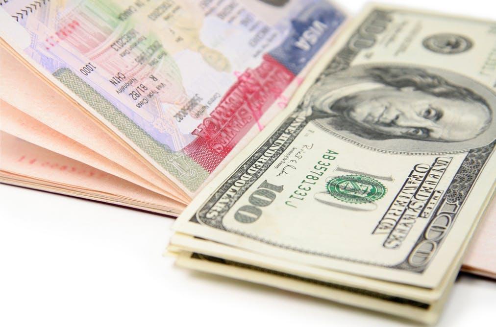 Дополнительные платежи за американскую визу