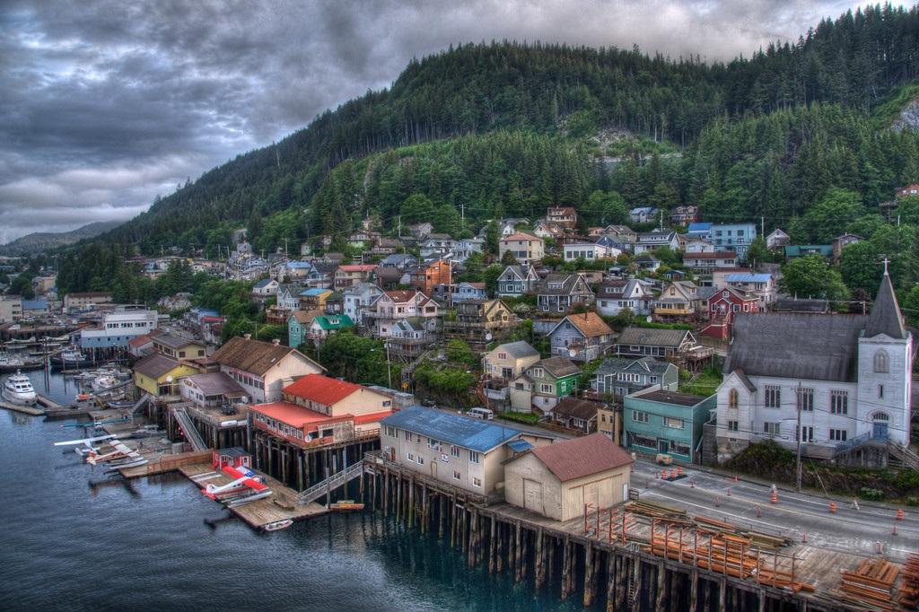 Город Кетчикан, Аляска