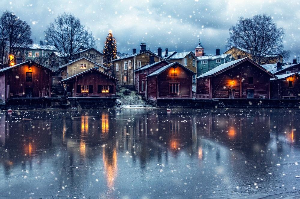 Городок в Финляндии