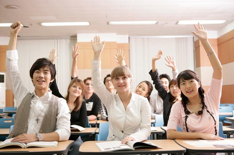 Иностранные студенты в университете Южной Кореи