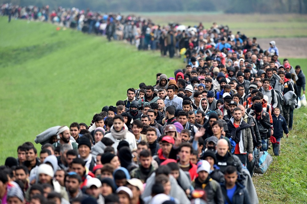 Количество желающих эмигрировать в ЕС