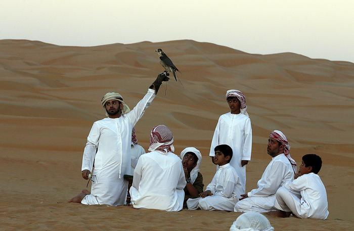 Коренное население ОАЭ