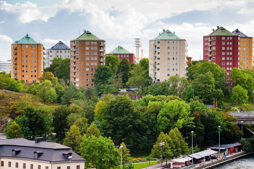 Муниципальные дома в Стокгольме, Швеция