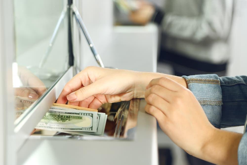 Оплата консульского сбора через кассу