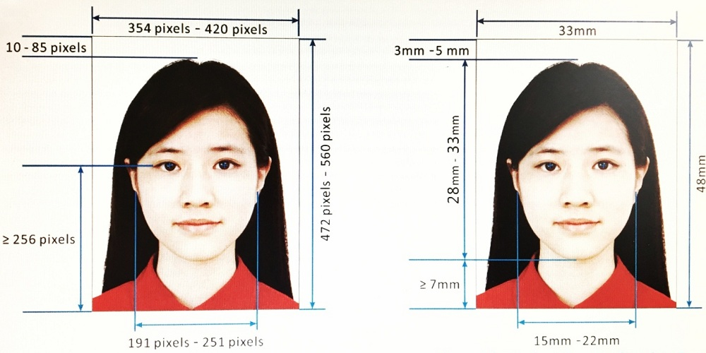 Основные требования к фото на визу в КНР