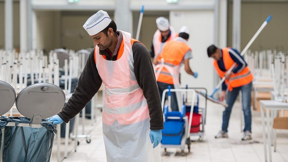 Работа для мигрантов в Европе