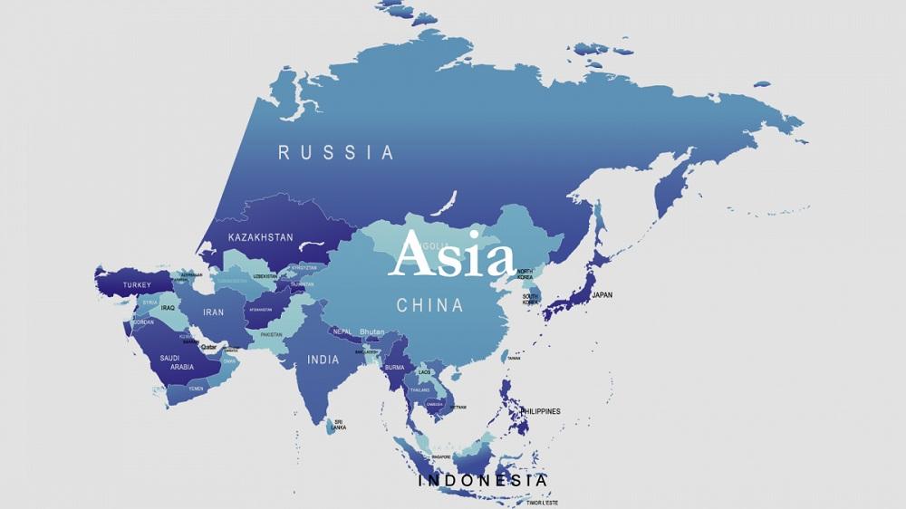 Список стран Азии