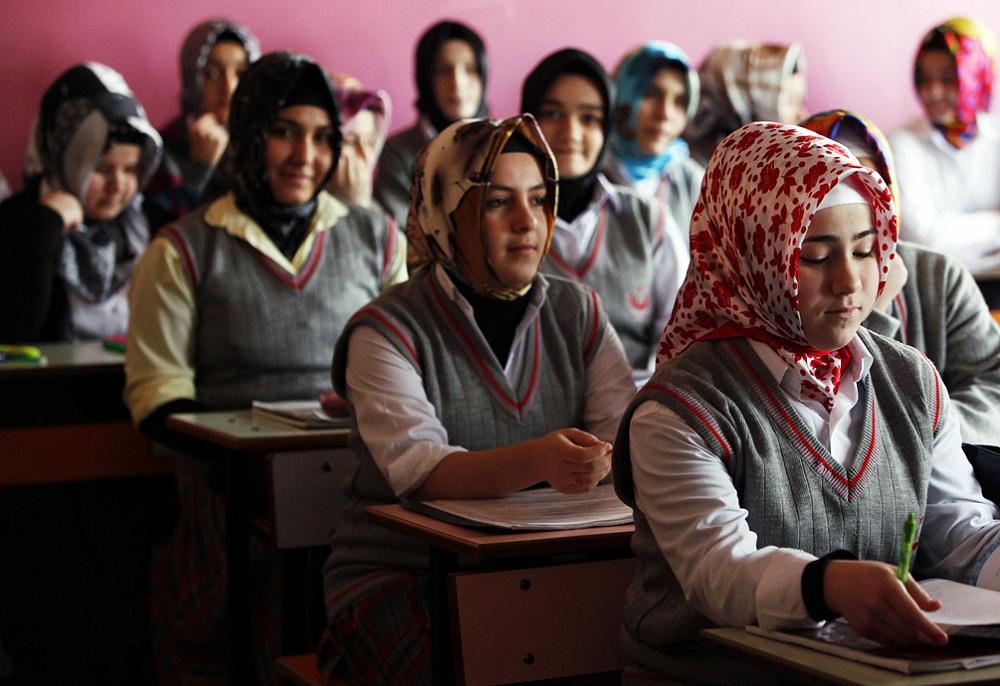 Средняя школа в Турции