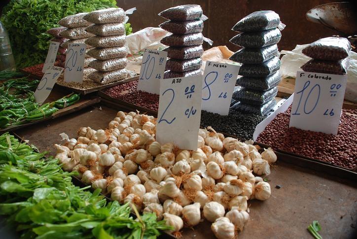Цены на продукты на Кубе