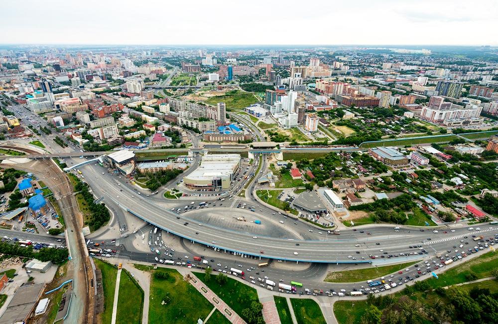 Транспортные развязки в Новосибирске