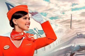 Зарплата стюардесс российских и зарубежных авиалиний