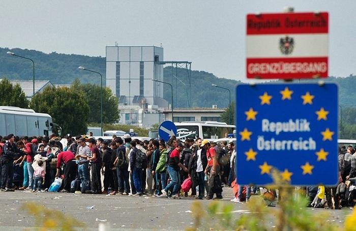 Беженцы в Австрии