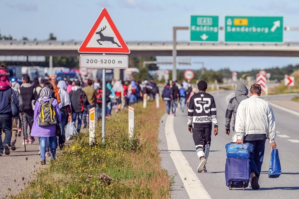 Беженцы в Дании