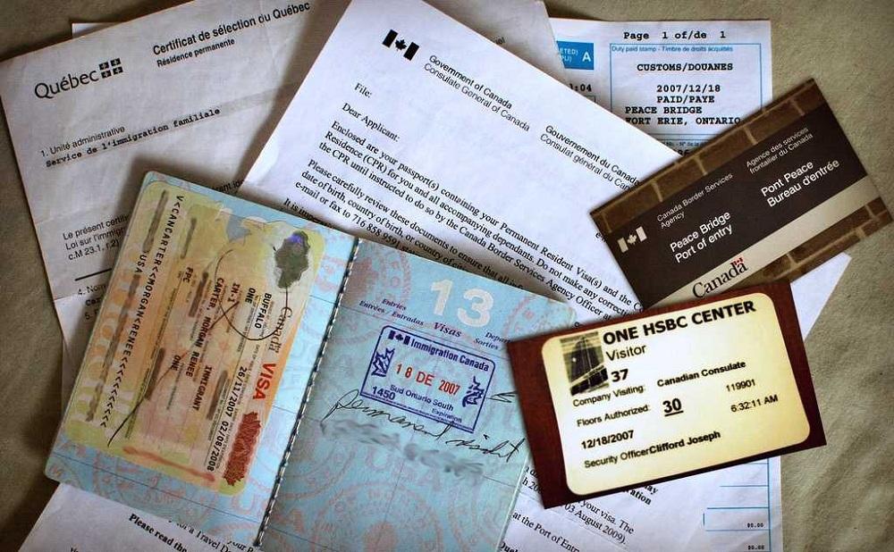 Документы для иммиграции в Канаду