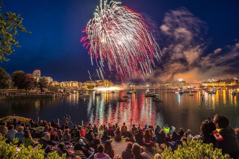 Фестиваль огней в Ванкувере