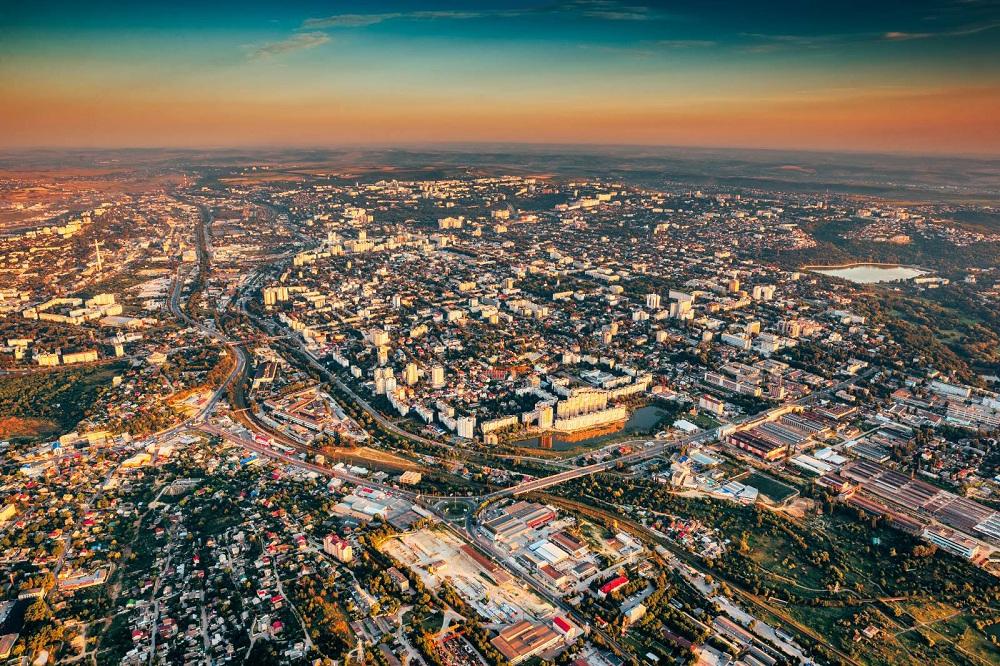 Город Кишинев, Молдавия
