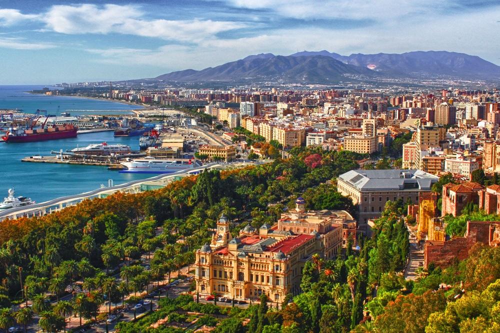 Город Малага, Испания