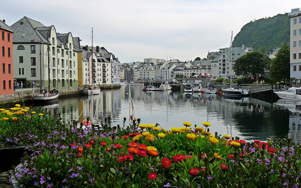 Город Олесунн, Норвегия