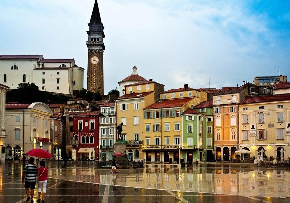 Город Пиран, Словения