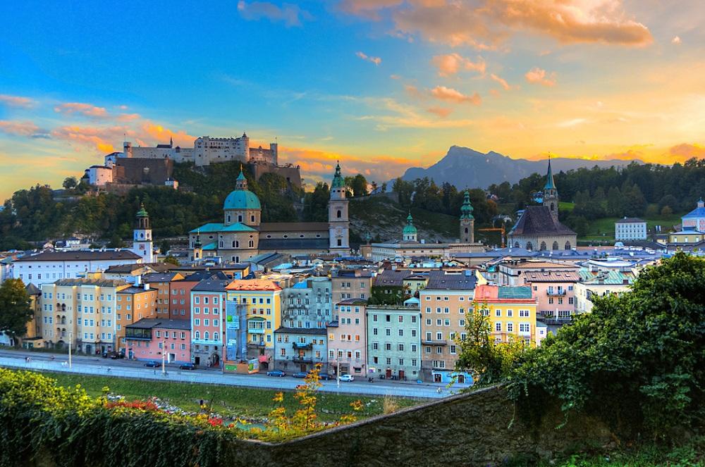 Город Зальцбург, Австрия
