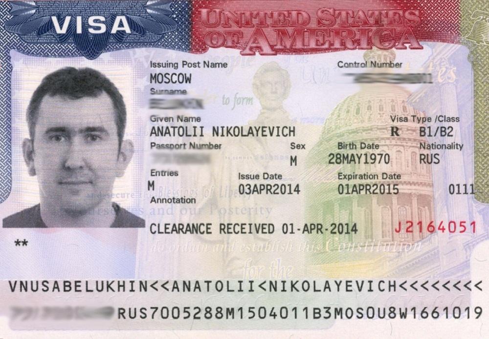 Категории рабочих виз в США