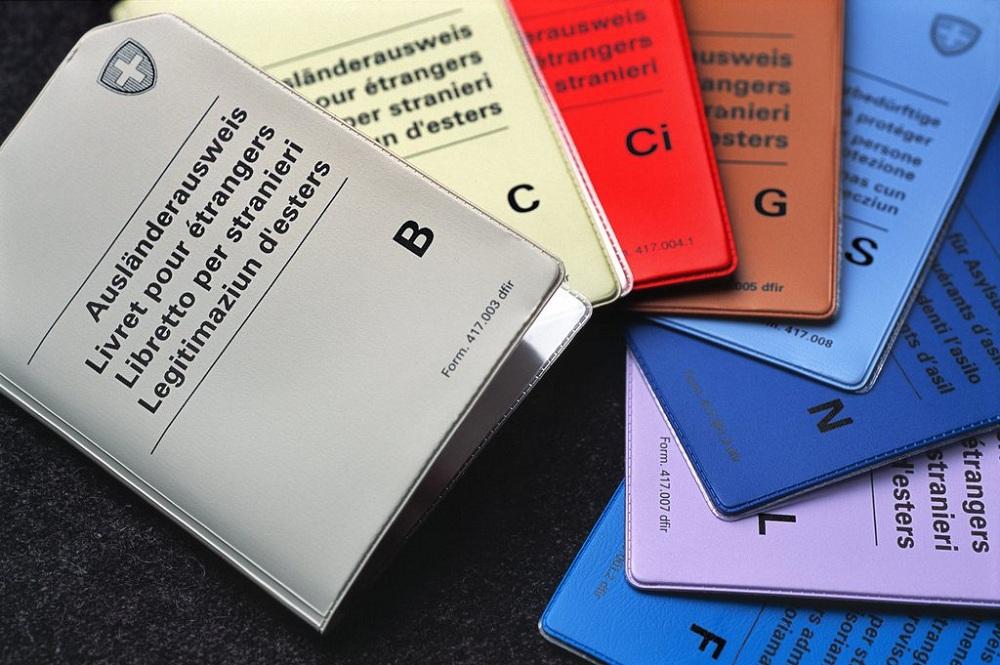 Классификации разрешений на пребывание в Швейцарии