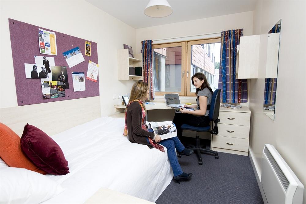 Комната в общежитии для иностранных студентов