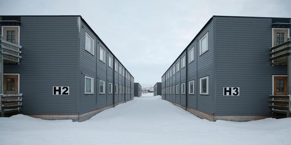 Лагерь для беженцев в Норвегии