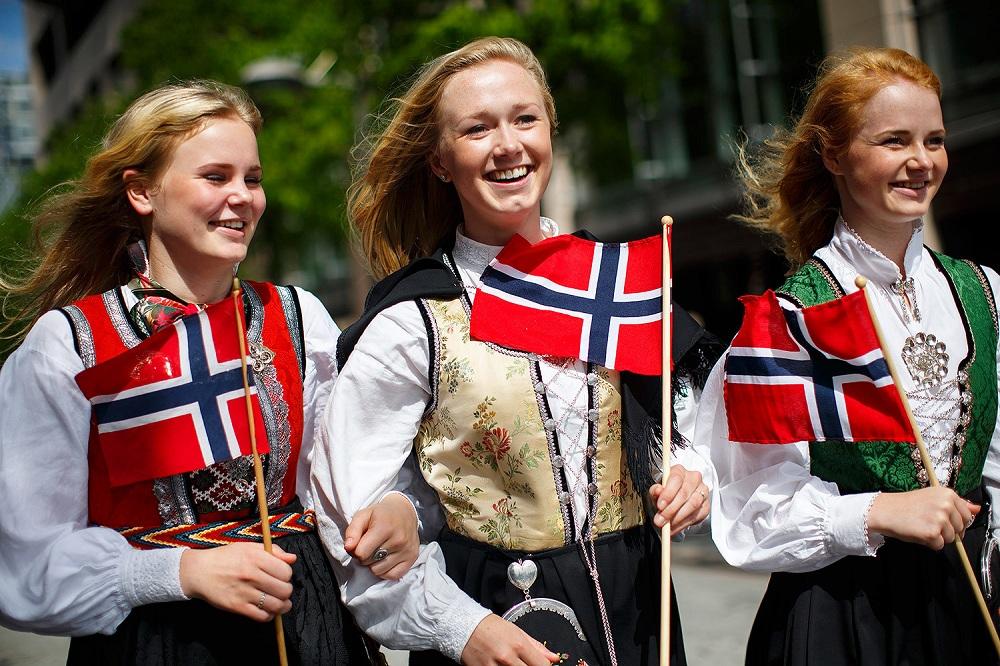 Население Норвегии