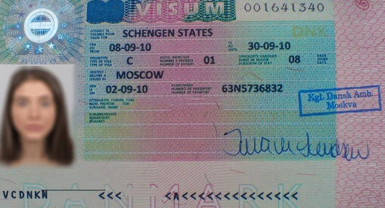 Оформление въездной визы в Данию для россиян