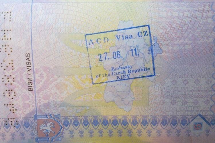 Отказ в чешской визе