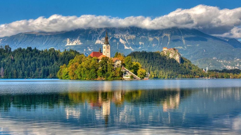 Озеро Блед, Словения