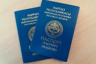Паспорт Киргизии