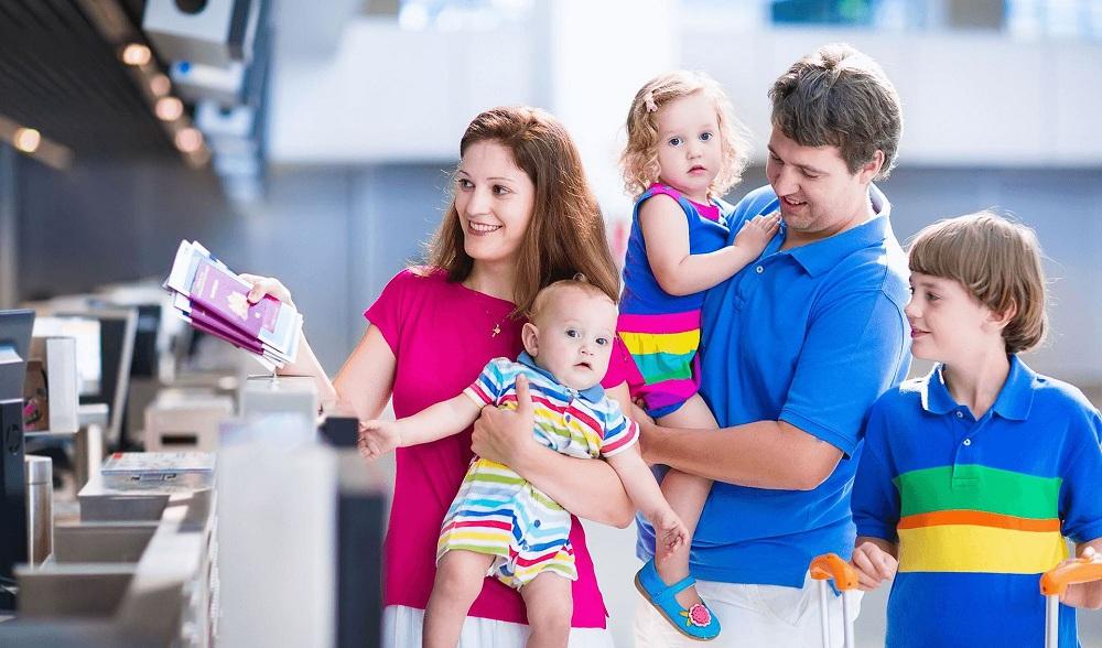 Переезд с несовершеннолетними детьми