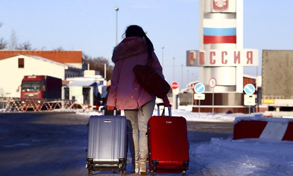 Правила въезда украинцев в РФ