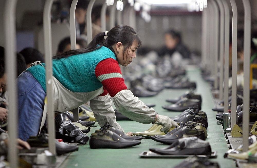 Работа жителей Китая
