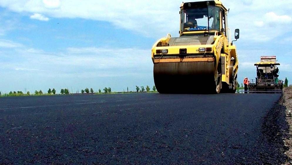 Ремонт дороги в ДНР