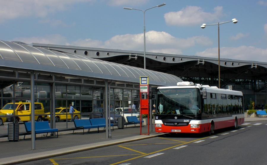 Шофер общественного транспорта в Чехии