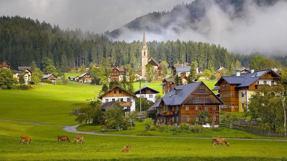 Сельская жизнь в Австрии