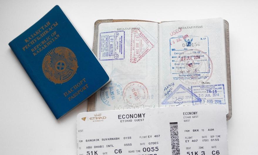 Страны с безвизовым транзитом для казахстанцев