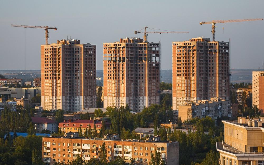 Строители в ДНР