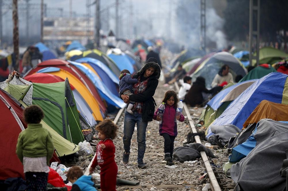 Убежище для беженцев в Греции