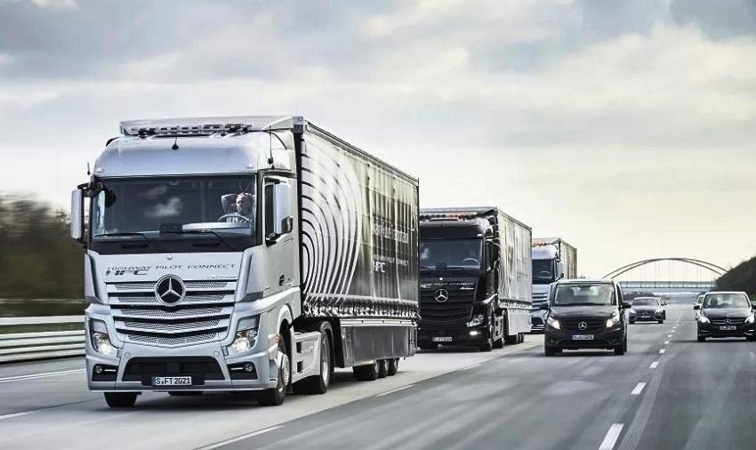 Водитель грузовика в Европе