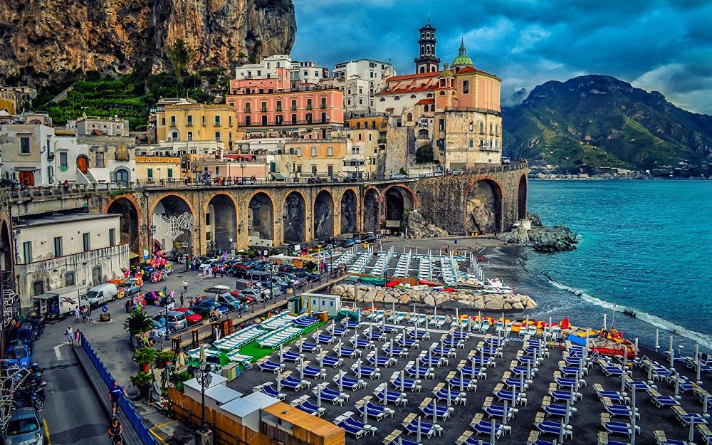 Амальфийское побережье Италии