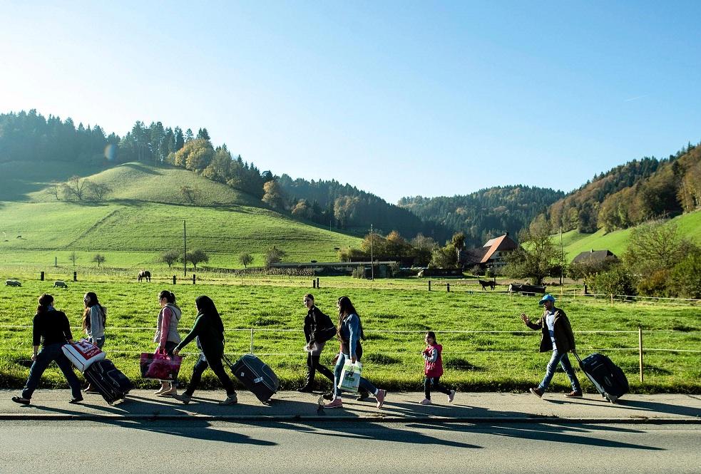 Беженцы в Швейцарии