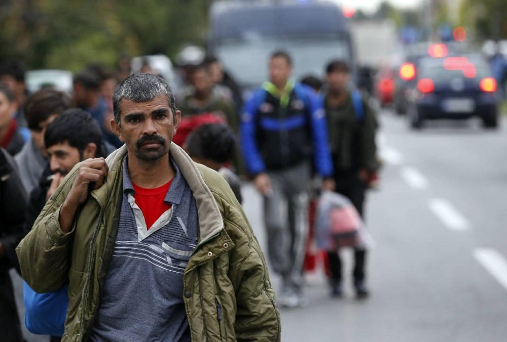 Мигранты в Сербии