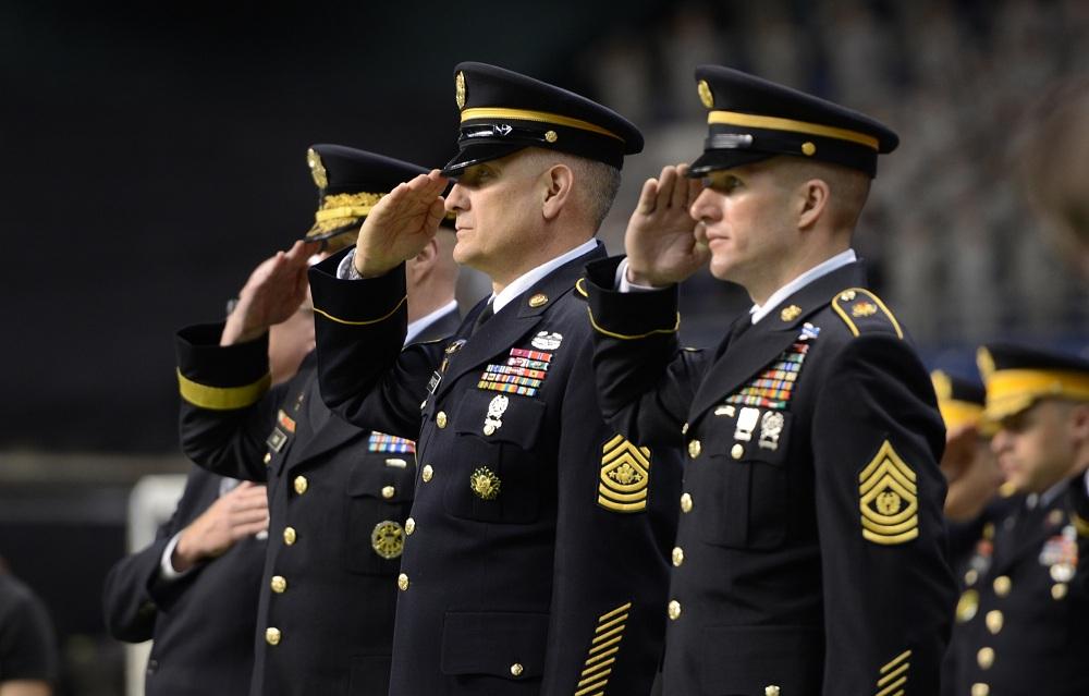 Офицерский состав армии США